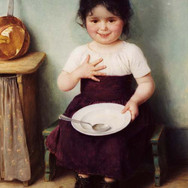 Seated Little Girl