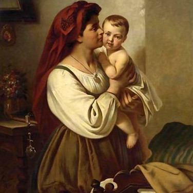 A Mother's Kiss