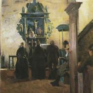 The Altar at Tanum Church in Baerum