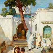 Women Near the Sidi Abderrahman (Algeria)