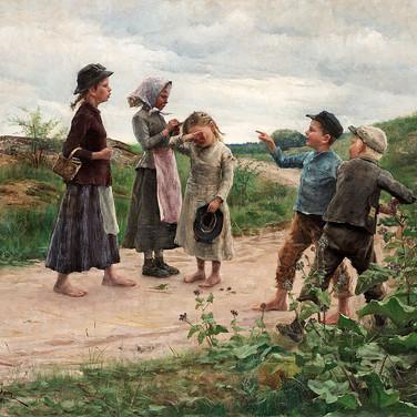 Teasing Children