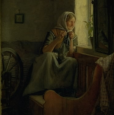 An Old Peasant Wife