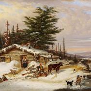 Settler's Log House