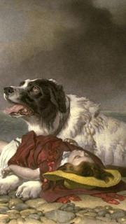 12. Saved by Sir Edwin Landseer