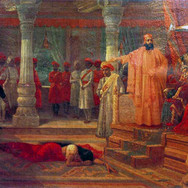 Droupathi in Virata's Palace
