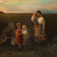 Young Peasant Woman with her Daughter