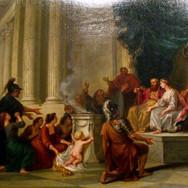 Pyrrhus Child Presented to Glaucius