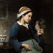 Fillette a L'oiseau
