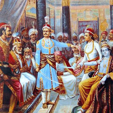 Sri Krishna as Envoy