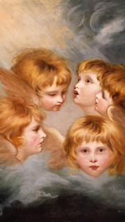 13. Angel's Heads by Sir Joshua Reynolds