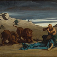 Paul the First Hermit with Lions