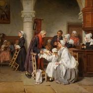 In der Kirche von Fontainebleau