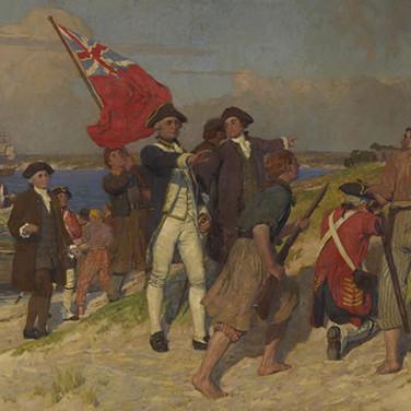 Landing of Captain Cook at Botany Bay, 1770
