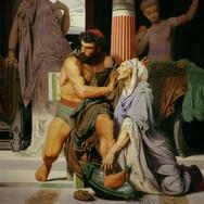 Ulysse Reconnu par Euryclee