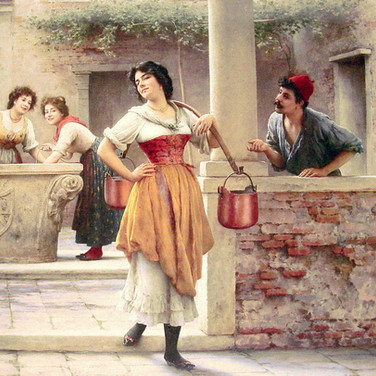 Flirtation at the Well