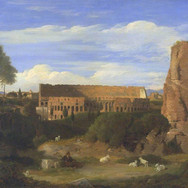 The Colosseum from the Campo Vaccino