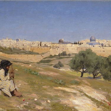 Jerusalem from the South East