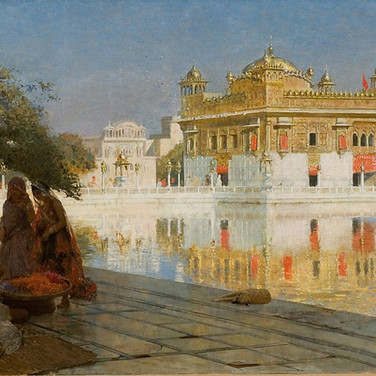 Across the Pool to the Golden Temple of Amritsar
