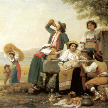 Lunch of a Neapolitan Peasant Family