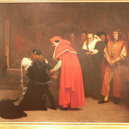 Elizabeth Woodville Surrenders the Duke of York to the Tower