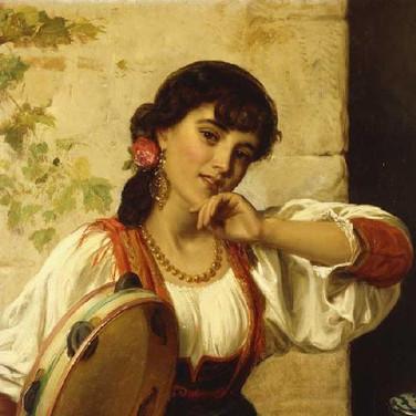 A Neapolitan Dancer