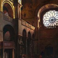 Interior of St. Mark's Basilica in Venice