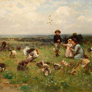 Children in the Pasture