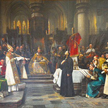 Master Jan Hus Before the Council of Constance