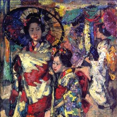 Two Geisha Girls