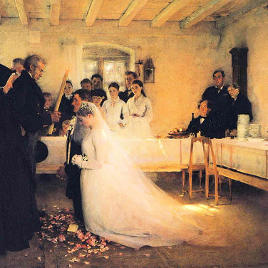 Blessing of the Young Couple Before Marriage