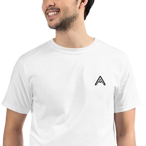 AzizDraws Organic T-Shirt White