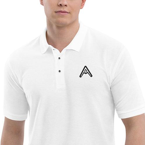 AzizDraws Men's Premium Polo Embroidered Day