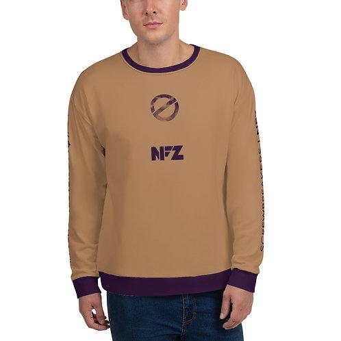 NFZ All-Over Sweatshirt Tan