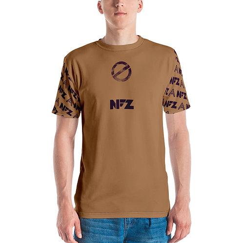 NFZ All-Over T-Shirt Tan