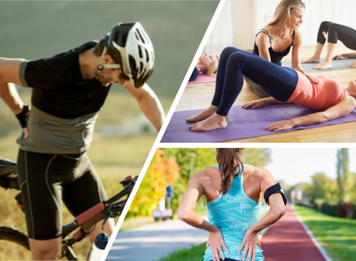 Running and Cycling and Pilates. Oh My!