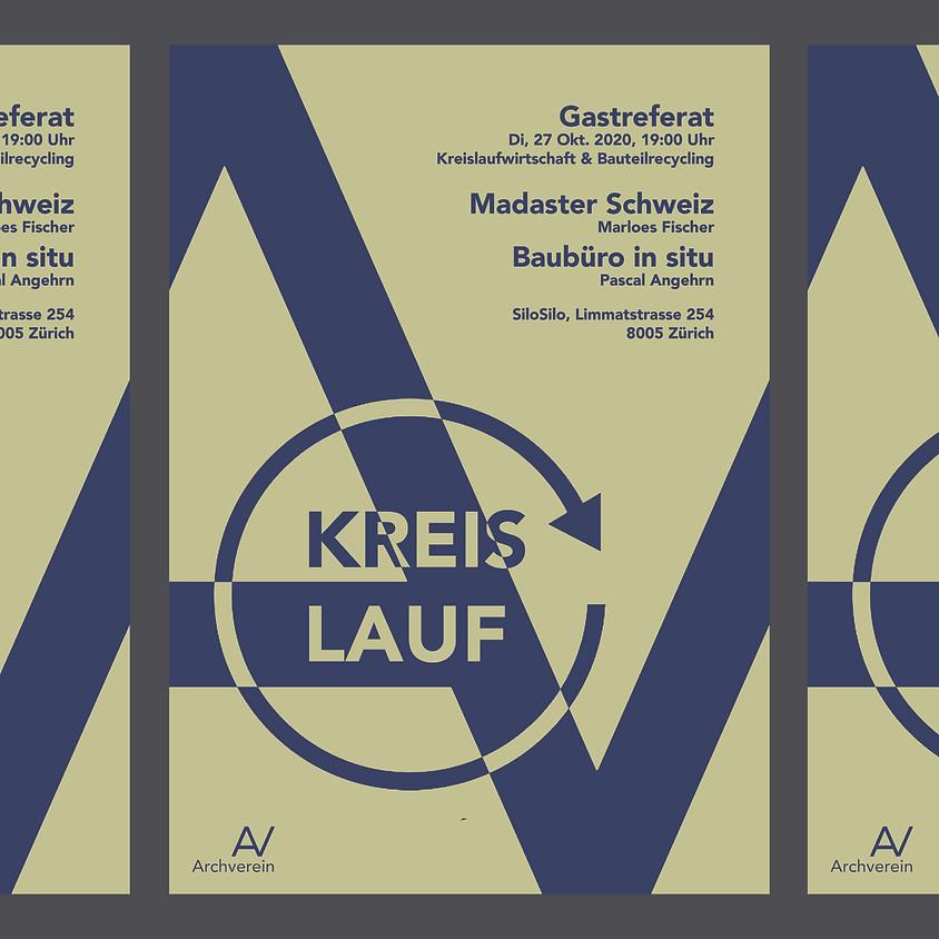 Gastreferat: Madaster Schweiz / Baubüro in situ