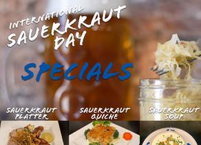 Hofbräuhaus Las Vegas to commemorate International Sauerkraut Day on March 24