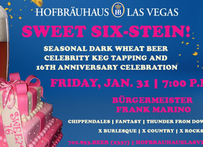 Hofbräuhaus Las Vegas to celebrate 16th anniversary with largest-ever celebrity keg tapping