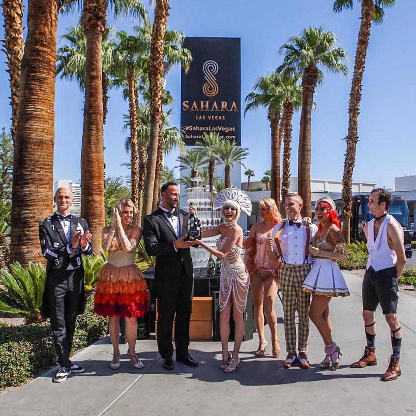 Sahara Las Vegas Grand Opening
