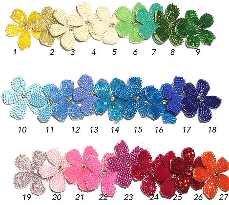 Flowers brooches