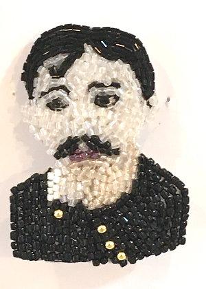 Proust - Broche