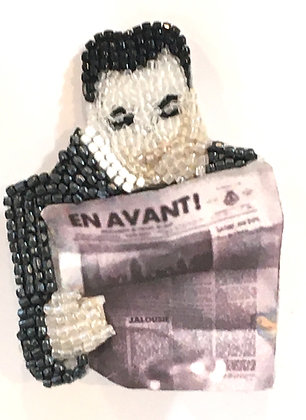 Albert Camus - Broche