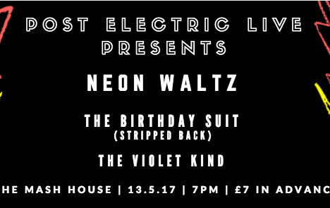 Post Electric Live Presents....