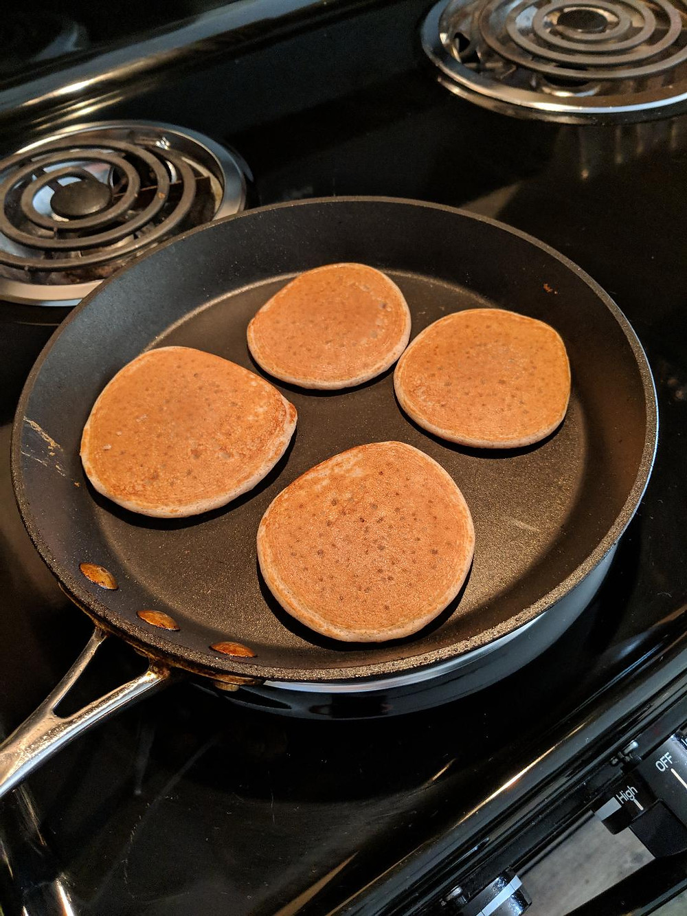 gluten-free, protein, pancakes, vanilla, almond, healthy recipe, healthy eating