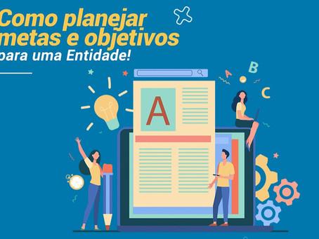 """Amais acaba de lançar seu novo eBook """"Como planejar metas e objetivos para a sua entidade!"""""""
