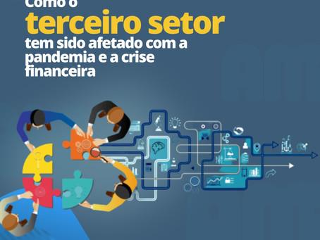 Como o terceiro setor tem sido afetado com a pandemia e a crise financeira