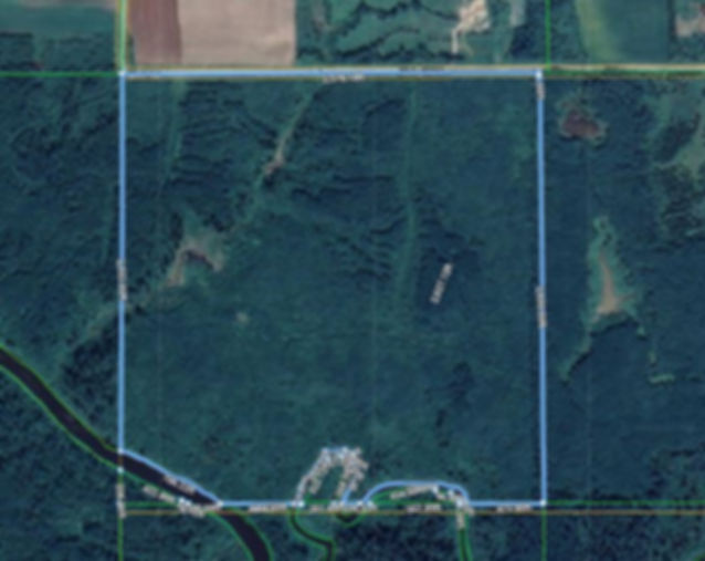 Aerial View  PCL 7773 Birch Road Hislop.
