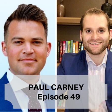 From Serving Cold Drinks To Making Cold Calls - Commercial Real Estate Veteran, Paul Carney Stops By