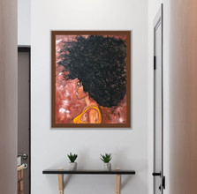 Abstract Afro