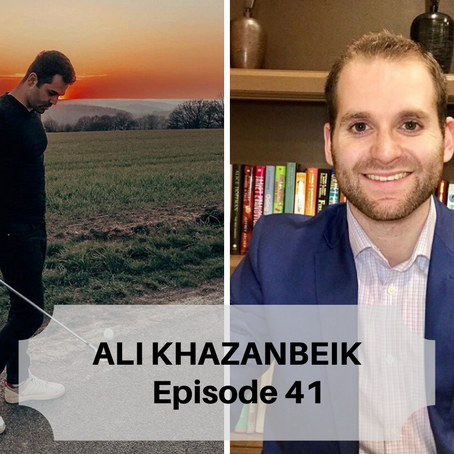 Iranian National Golf Team Member, Ali Khazanbeik, Shares His Story - Life As a Child Refugee